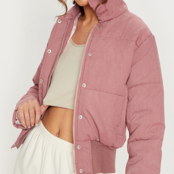 PrettyLittleThing Jackets & Blazers - Pretty Little Thing Cropped Puffer Jacket